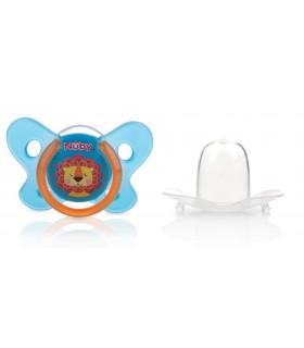 Nuby-suzeta cu tetina ovala si capac igienic de protectie