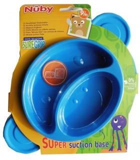 "Nuby Platou ""magic"" din silicon, 300ml, 9+"