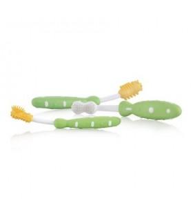 Nuby Set 3 periute de dinti