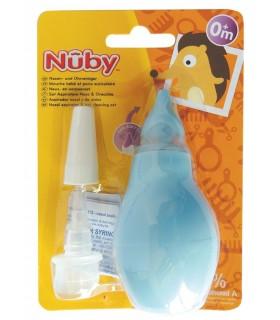 Nuby Set aspirator nazal si pompita pentru ureche