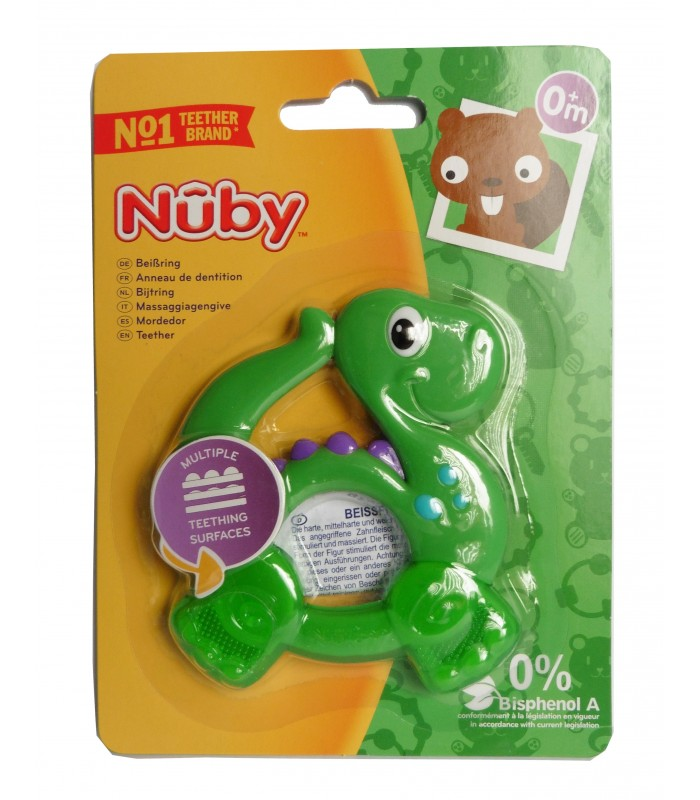 Nuby Inel gingival 0+