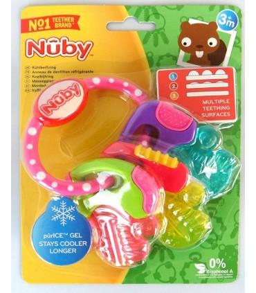 Nuby Inel gingival racoritor 3+
