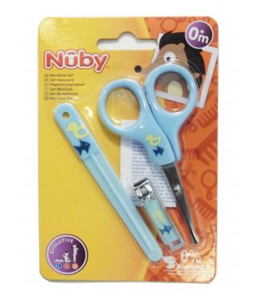 Nuby Kit pentru ingrijirea unghiilor 0+