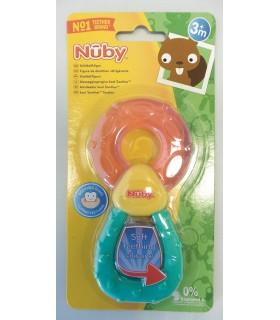 Nuby™ Inel racoritor pentru dentitie 3+