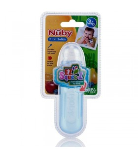 Nuby Mini Squeeze Feeder - dispozitiv de hranire 40ml +6
