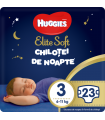 Huggies Elite Soft - Chilotei de noapte Nr. 3