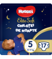 Huggies Elite Soft - Chilotei de noapte Nr. 5