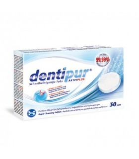 DENTIPUR rapid cleansing tablets, 30 tablete