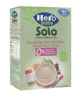 HERO BABY SOLO - CEREALE FARA GLUTEN, 220G, 4+, ECO