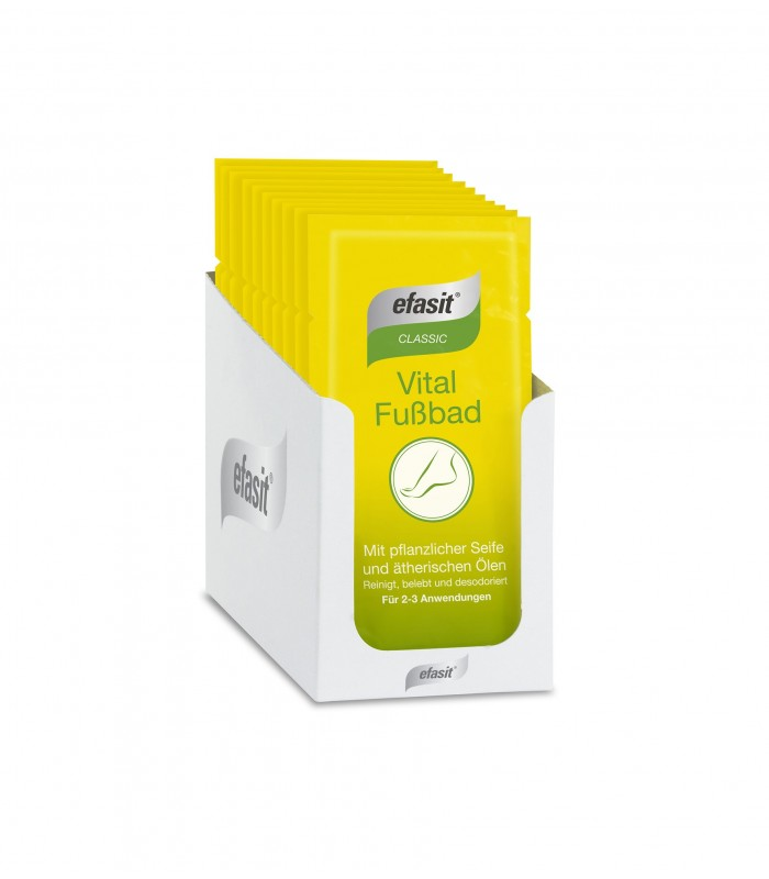 efasit CLASSIC Vital Fussbad – Sapun pulbere pentru imbaierea picioarelor