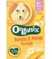 ORGANIX- Pudra de cereale ecologice (Bio): orez, porumb,banana si mango, 6+