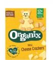 """Organix - Biscuiti """"Mini Cheese Crackers"""" ecologici (BIO) cu branza,12+"""