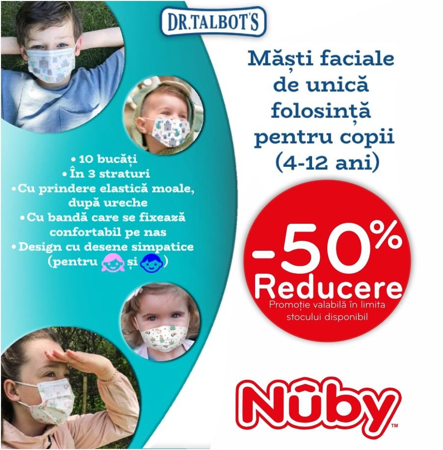 Masti faciale pentru copii